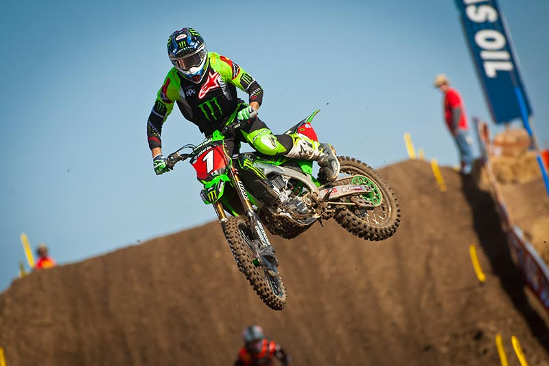 National 2018: Tomac domina a Hangtown