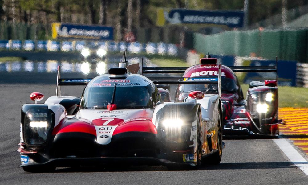 WEC | 6h di Spa: doppietta Toyota in qualifica, brutto incidente per Fittipaldi
