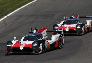 WEC   6h di Spa: prova di forza per Toyota, Ford vince tra le GTE