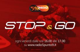 """""""Stop&Go"""" live venerdì 8 giugno alle ore 16.00 su Radio 5.9"""