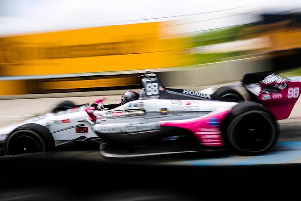 Indycar   GP Detroit: Marco Andretti in pole per gara-1