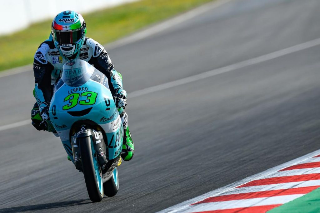 Moto3 | GP Catalunya: Enea Bastianini in pole position