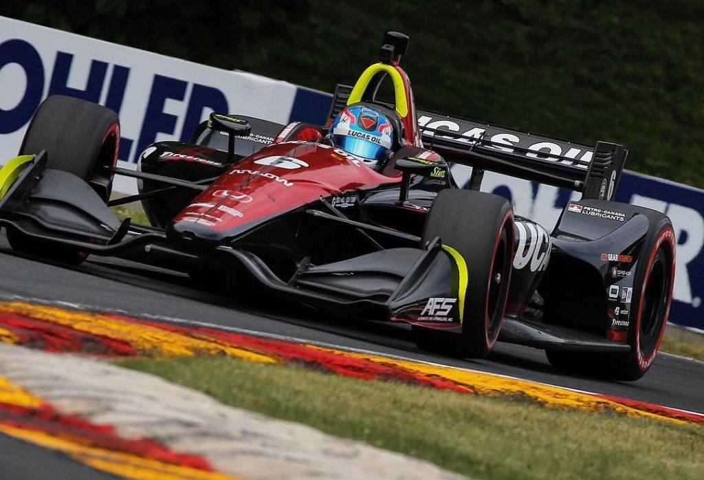 Indycar | GP Road America: Wickens il più veloce nell'ultimo turno di libere