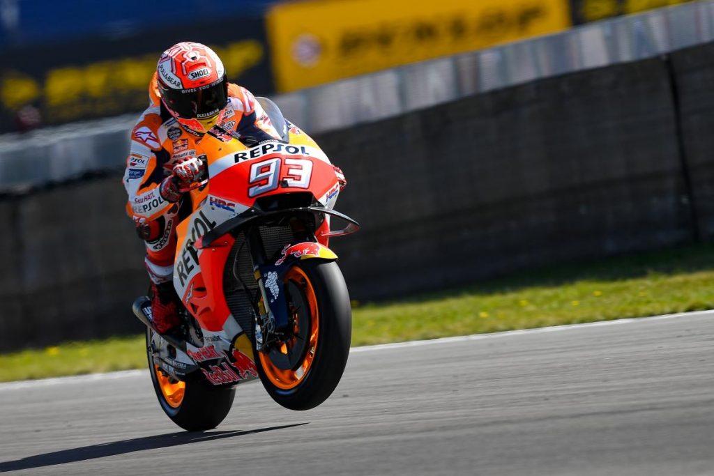 MotoGP | GP Olanda: qualifica da paura, Márquez in pole per 41 millesimi