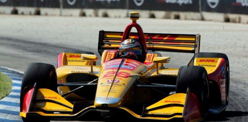"""<span class=""""entry-title-primary"""">Indycar   GP Detroit: Hunter-Reay spezza il digiuno e vince gara-2</span> <span class=""""entry-subtitle"""">Il pilota americano mancava dalla victory lane da Pocono 2015. Power e Jones completano il podio</span>"""