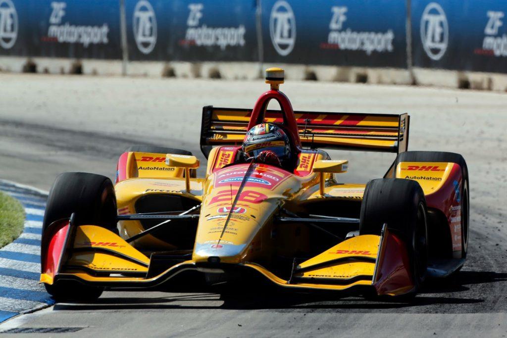 Indycar | GP Detroit: Hunter-Reay spezza il digiuno e vince gara-2