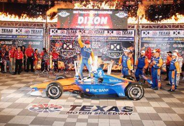 Indycar | Texas 600: Dixon domina e sale in testa al campionato