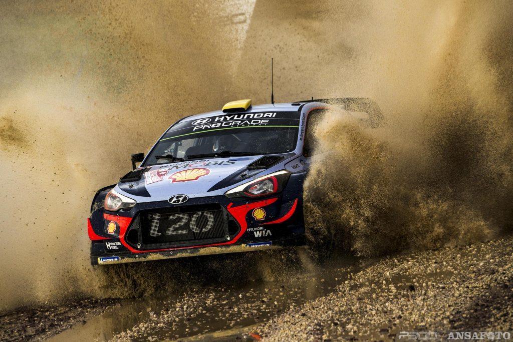 WRC | Sardegna: super partenza per le Hyundai, Mikkelsen e Neuville al comando