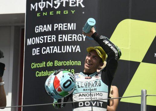 Moto3   GP Catalunya: doppietta italiana Bastianini-Bezzecchi