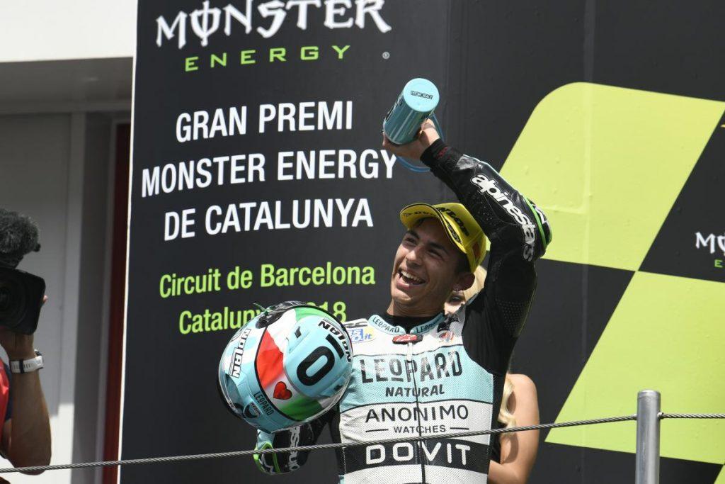 Moto3 | GP Catalunya: doppietta italiana Bastianini-Bezzecchi