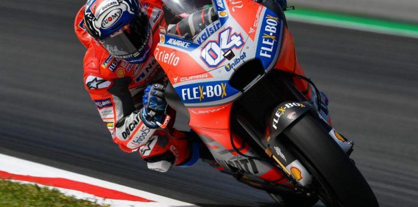 "<span class=""entry-title-primary"">MotoGP | GP Catalunya, sintesi warm-up</span> <span class=""entry-subtitle"">Dovizioso davanti a tutti, Ducati e Márquez favorite, sorpresa Rabat tra i primi</span>"