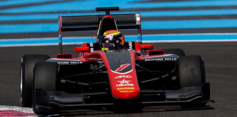 "<span class=""entry-title-primary"">GP3 | GP Francia, Ilott vince Gara 2 su Pedro Piquet e Joey Mawson</span> <span class=""entry-subtitle"">Lorandi 4°, Pulcini 8° nella gara corta a Le Castellet</span>"