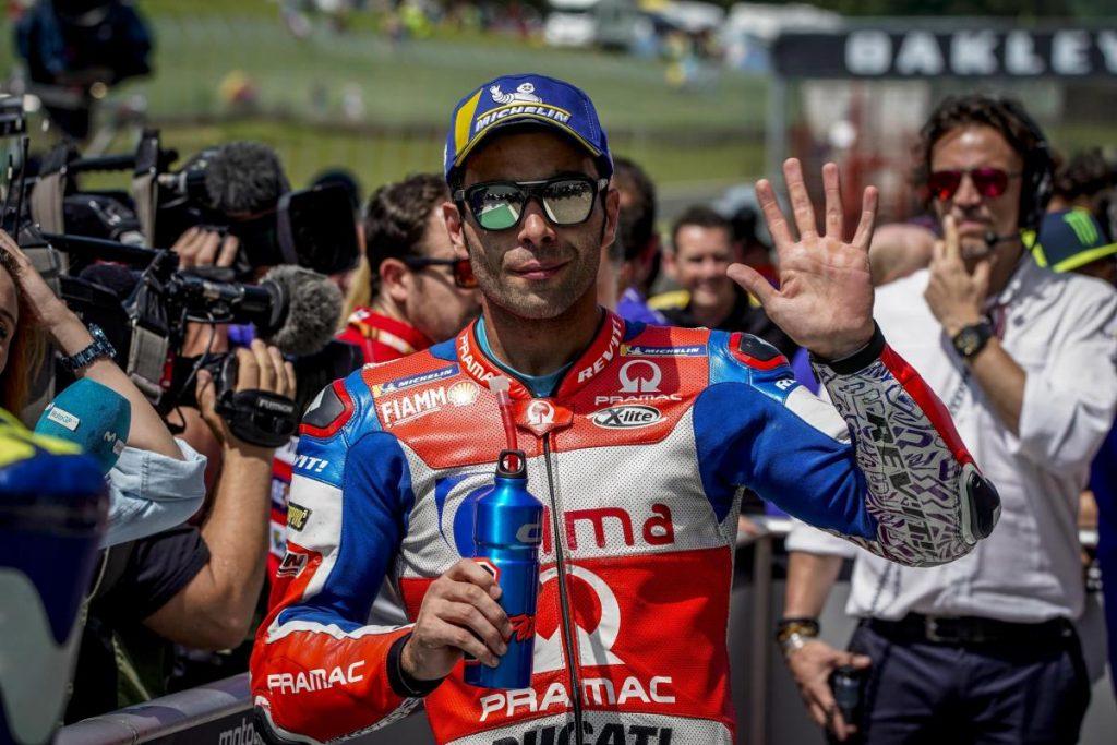 MotoGP   Danilo Petrucci passa al team ufficiale Ducati