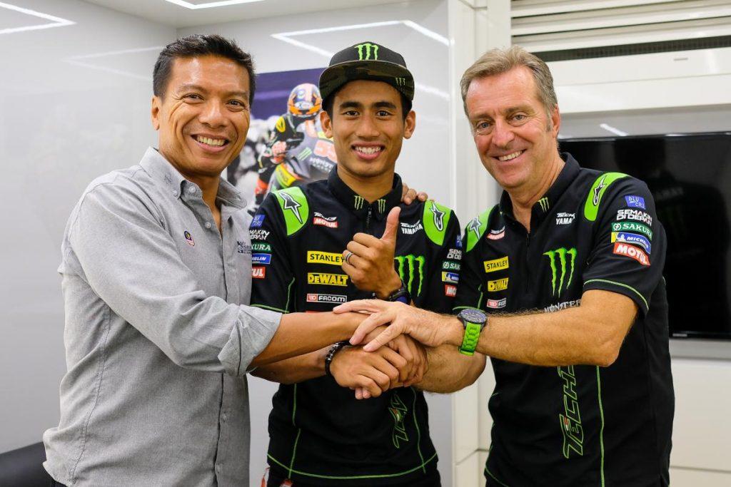 MotoGP | Syahrin rinnova con Tech3 per il 2019