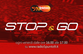 """""""Stop&Go"""" live venerdì 6 luglio alle ore 16.00 su Radio 5.9"""