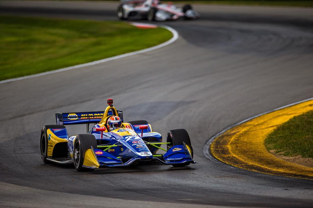 Indycar | Mid-Ohio 200: Rossi domina di strategia