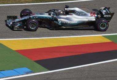 F1   GP Germania: la pioggia ribalta tutto ed Hamilton trionfa, Vettel fuori