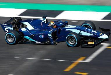 F2   GP Gran Bretagna: Russell beffato ai box, Albon vince la feature race