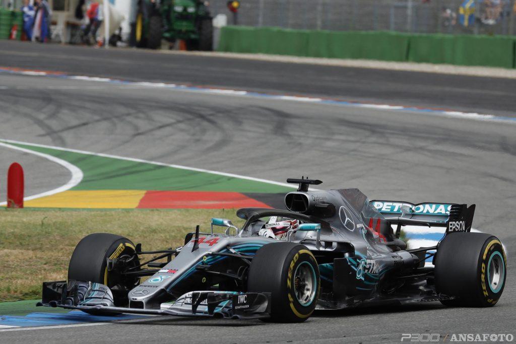 F1   Hamilton a rapporto dai commissari per il rientro - non rientro ai box ad Hockenheim