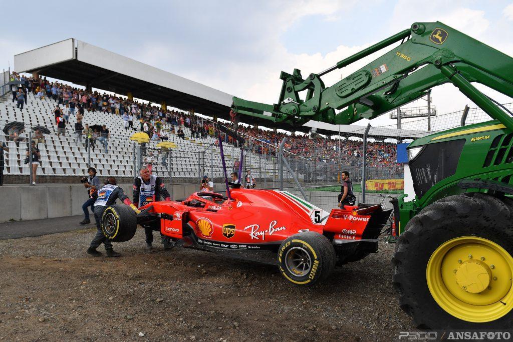 F1 | La rottura del V6 di Sirotkin concausa dell'uscita di Vettel?