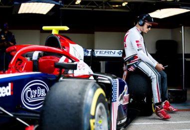 F2   Santino Ferrucci sospeso per due Gran Premi