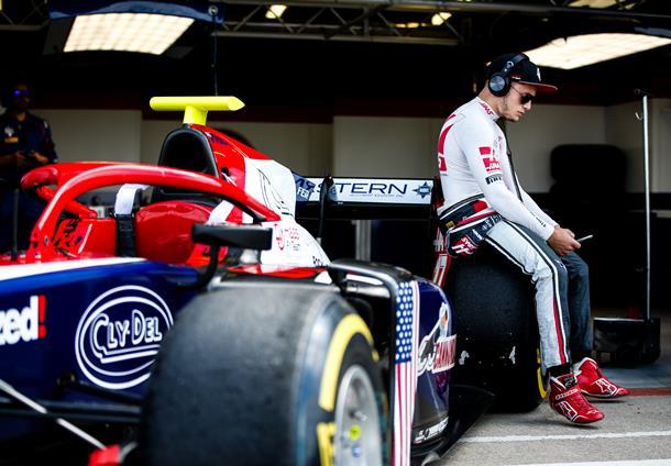 F2 | Santino Ferrucci sospeso per due Gran Premi