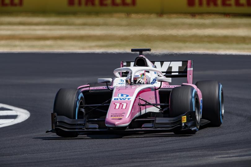 F2 | GP Gran Bretagna: Günther vince dalla pole, Russell e Norris sul podio