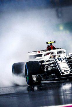 F1   GP Germania, FP3 funestata dalla pioggia