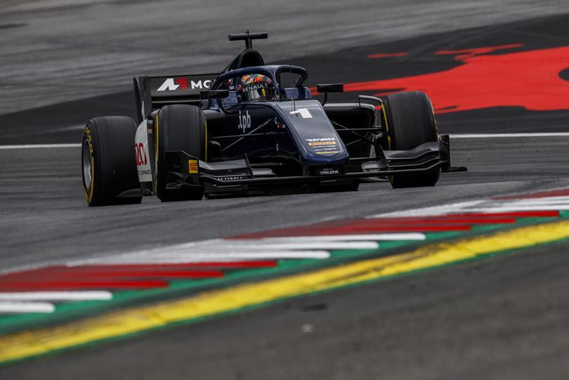 F2   GP Austria: Markelov vince la sprint race, Russell rovescia la classifica