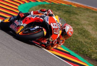 MotoGP   Sachsenring regno di Marquez. Marc suona la 9a di fila in Germania su Rossi e Vinales