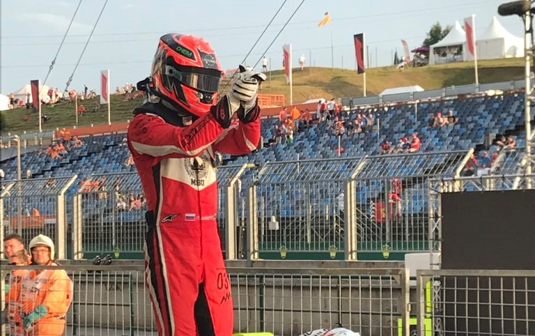 GP3   GP Ungheria, Mazepin domina Gara 1. Secondo Leonardo Pulcini, Hubert sul podio