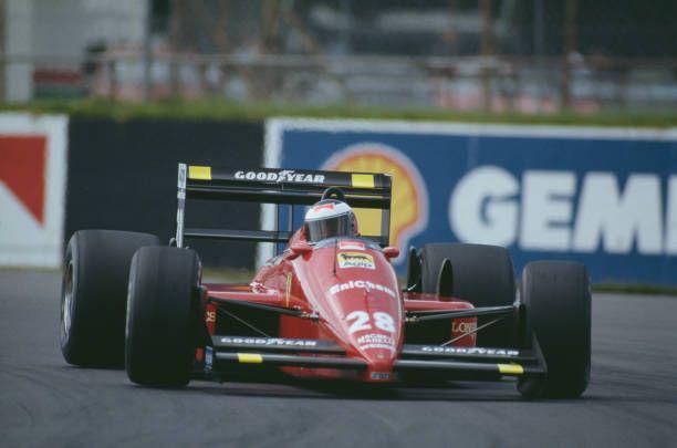 Il sabato rosso della Ferrari a Silverstone 1988