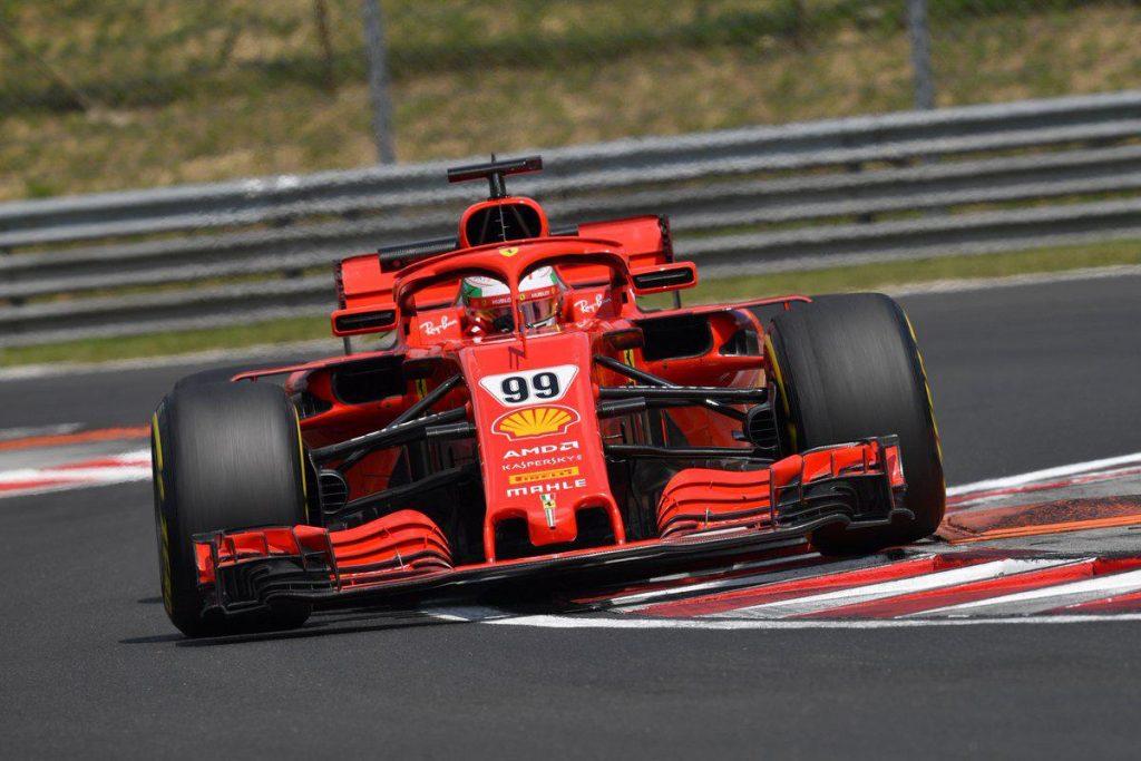 F1 | Test Hungaroring, Day-1: Giovinazzi porta la Ferrari davanti a tutti
