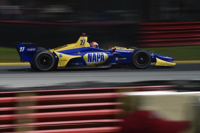 Indycar   GP Mid-Ohio: superpole per Alexander Rossi