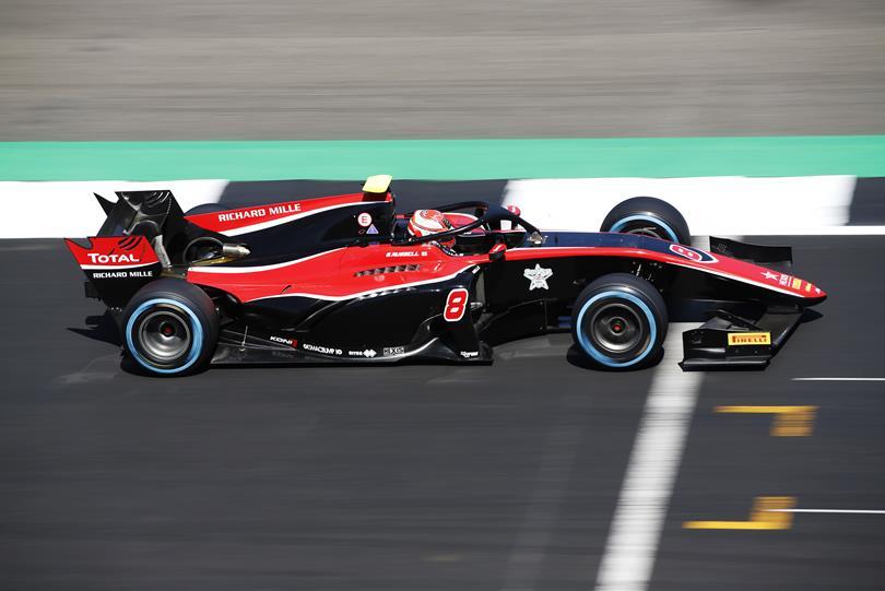 F2 | GP Gran Bretagna: Russell è di nuovo l'eroe delle qualifiche
