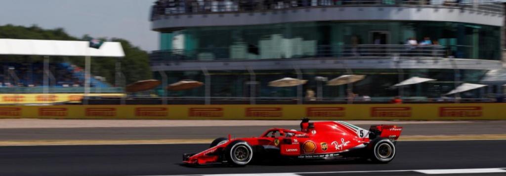 F1 | GP Gran Bretagna, FP2: Vettel porta la Ferrari davanti