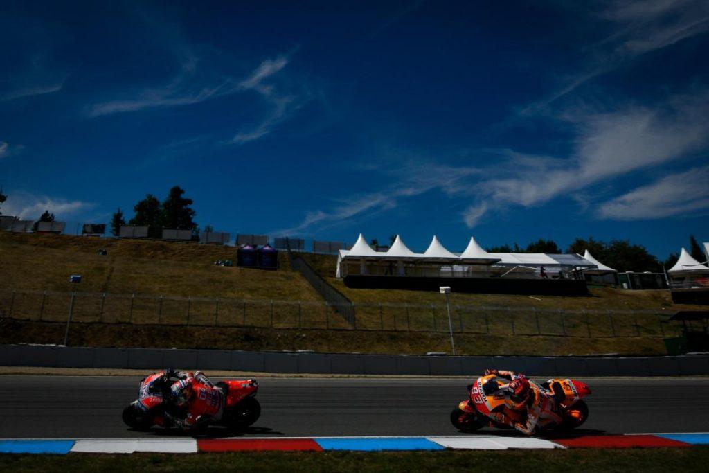 MotoGP | GP Austria: Márquez di due millesimi! Prima fila completata dalle Ducati