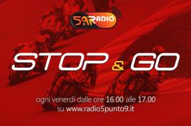 """""""Stop&Go"""" live venerdì 10 agosto alle ore 16.00 su Radio 5.9"""