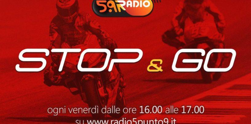 """<span class=""""entry-title-primary"""">""""Stop&Go"""" live venerdì 24 agosto alle ore 16.00 su Radio 5.9</span> <span class=""""entry-subtitle"""">La trasmissione di P300 in diretta fino alle 17</span>"""