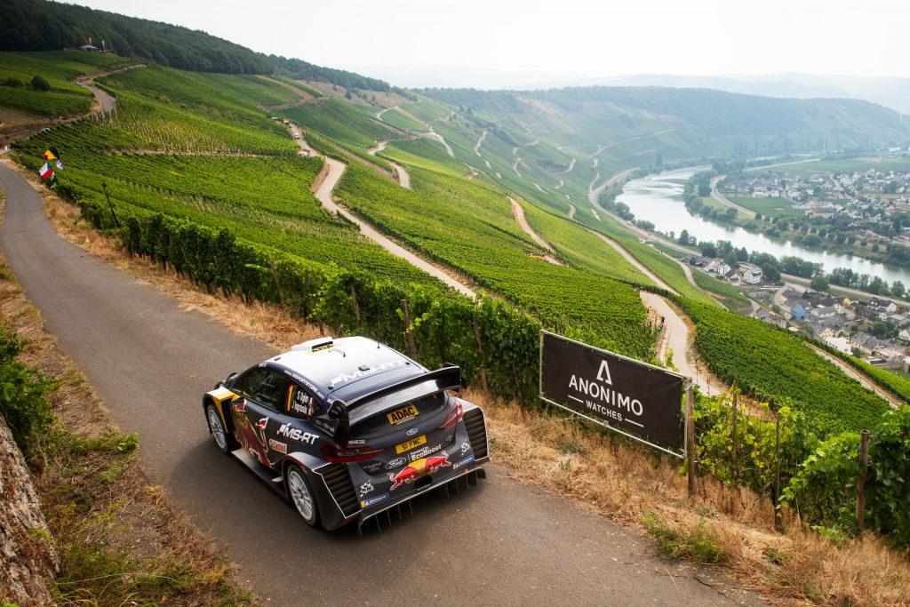 WRC   Germania: Tänak resta al comando a fine giornata, ma Ogier non molla