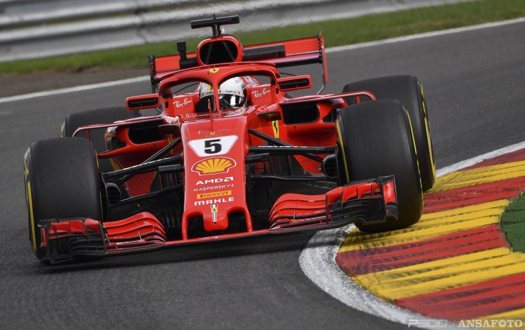 F1 | GP Belgio, FP1: Vettel miglior tempo davanti a Verstappen
