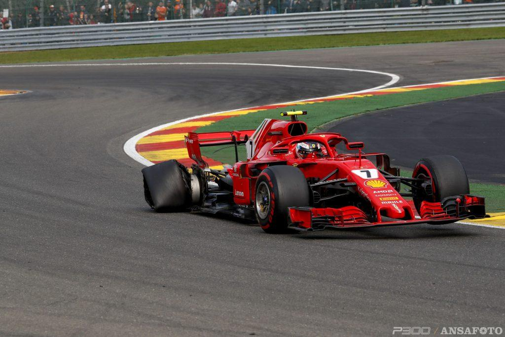 F1 | Il DRS aperto ed il pericoloso calvario di Raikkonen a Spa