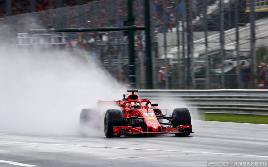 F1   GP Italia: Vettel comanda nella FP2 nonostante l'uscita di pista