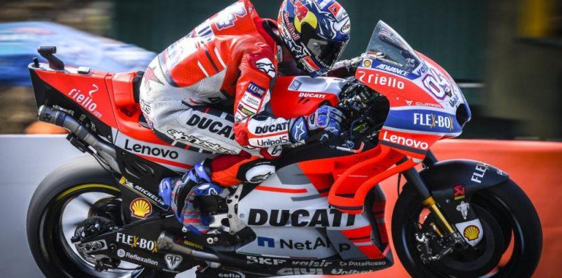 """<span class=""""entry-title-primary"""">MotoGP   GP Repubblica Ceca: nella sfida a tre vince Dovizioso</span> <span class=""""entry-subtitle"""">La Ducati torna a vincere a Brno dopo undici anni. Nella festa Rossa è il forlivese a prevalere su Lorenzo</span>"""