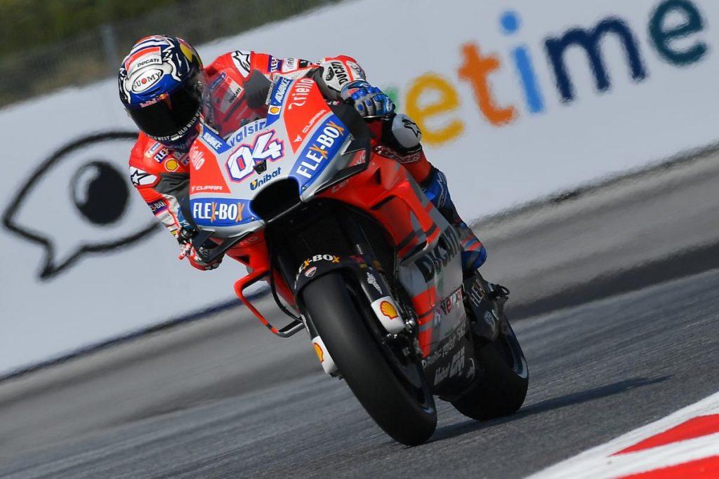MotoGP | GP Austria, sintesi warm-up: Dovizioso primo al mattino