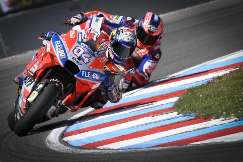 MotoGP   GP Repubblica Ceca: Dovizioso risponde alle critiche con la pole a Brno