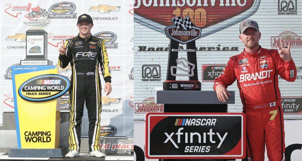 NASCAR | Doppio Justin nel weekend senza Cup Series