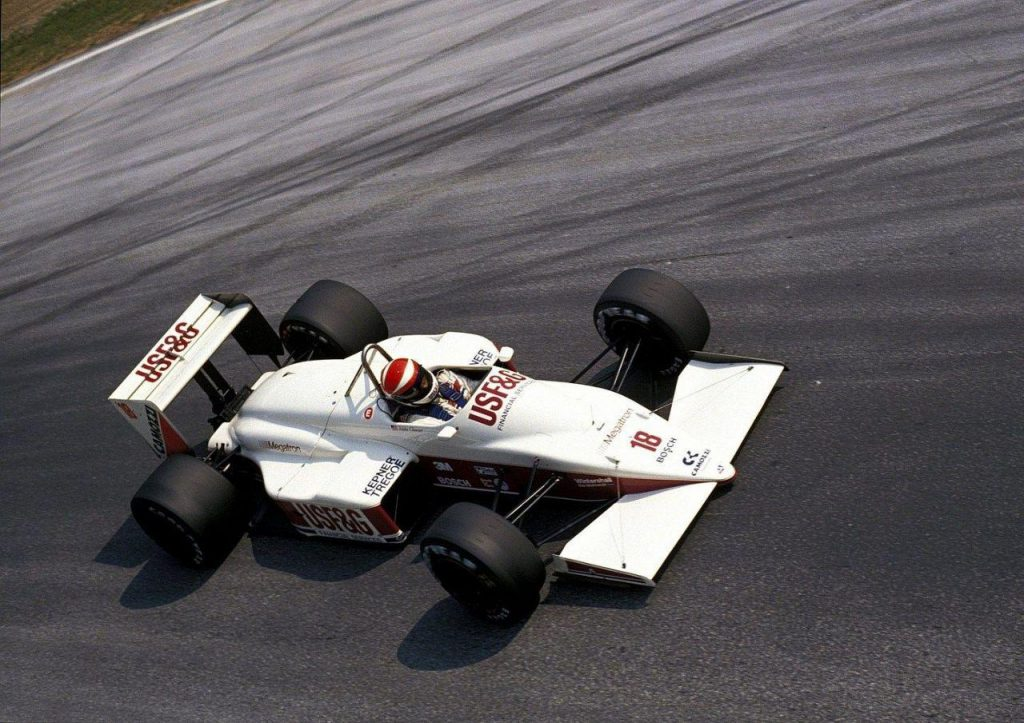 Eddie Cheever e il podio di Monza 1988 1