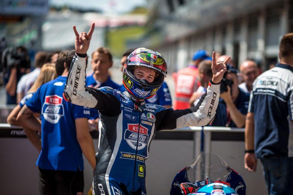 Moto3 | GP Austria: Bezzecchi alla seconda stagionale, podio per Martín
