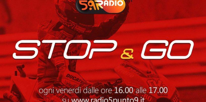 """<span class=""""entry-title-primary"""">""""Stop&Go"""" live venerdì 14 settembre alle ore 16.00 su Radio 5.9</span> <span class=""""entry-subtitle"""">La trasmissione di P300 in diretta fino alle 17</span>"""